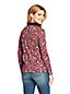 Polo Imprimé en Coton Supima, Femme Stature Petite