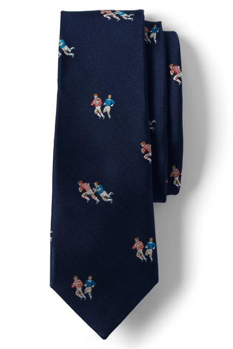 Men's Silk Rugby Tie
