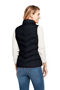 Women's Winter Down Puffer Vest, Back