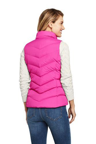 Women's Petite Winter Down Puffer Vest