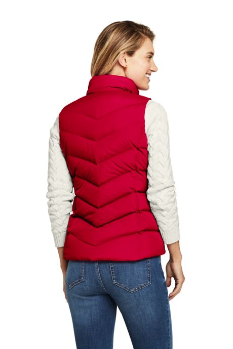 Women's Petite Winter Down Puffer Vest