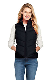 Women's Winter Down Puffer Vest, Front