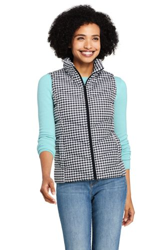 Women's Tall Patterned Down Gilet