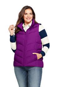 Women's Plus Size Winter Down Puffer Vest