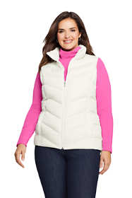 Women's Plus Size Winter Down Puffer Vest