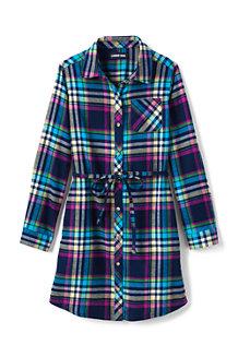 Girls' Flannel Dress