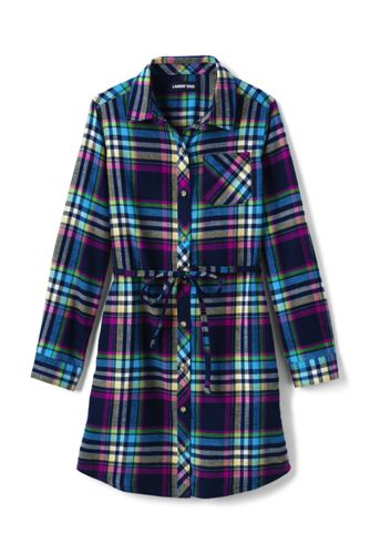 Girls' Flannel Dress