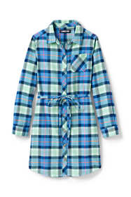 Little Girls Flannel Dress
