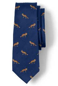 Men's Silk Foxes Tie