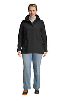 Women's Plus Size Hooded Squall Winter Jacket, alternative image