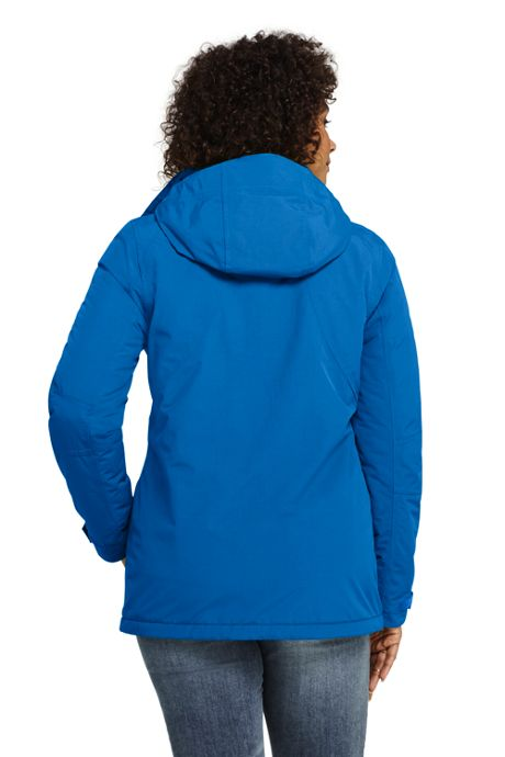 Women's Plus Size Hooded Squall Winter Jacket