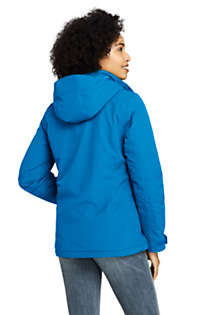 Women's Petite Hooded Squall Winter Jacket, Back