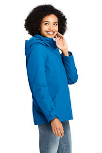 Women's Petite Hooded Squall Winter Jacket, alternative image