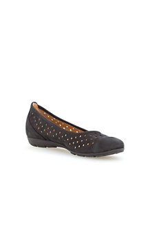 Women's Gabor Ruffle Perforated Ballets