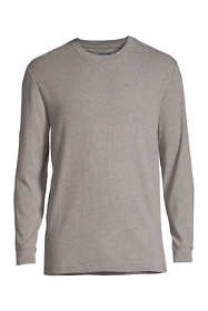 Men's Knit Rib Crewneck Pajama Shirt