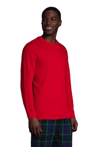 Men's Knit Rib Crewneck Pajama Shirt