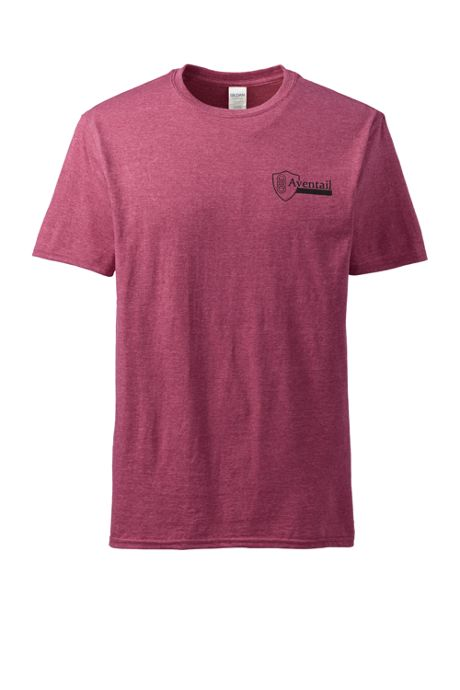 Unisex Big Gildan Short Sleeve Heather Tee