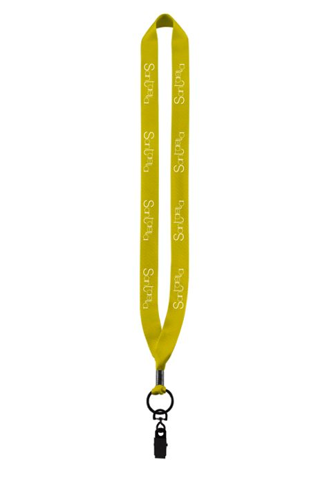 Three Quarter Inch Polyester Lanyard