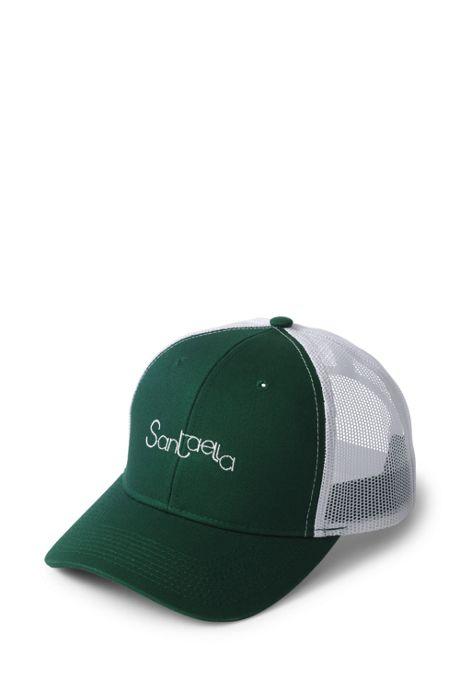 Unisex Comfort Chino White Trucker Cap