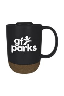14oz Cork Bottom Mug