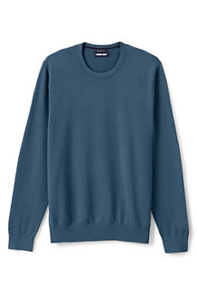 Supima Rundhals-Pullover für Herren