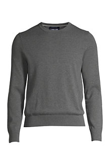 Men's Fine Gauge Supima® Cotton Crew-neck Jumper