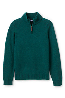 Men's Lambswool Half Zip Jumper