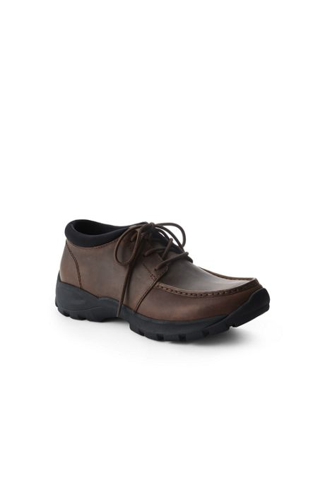 Men's All Weather Leather Low Chukka Boots