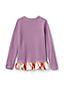 Sweatshirt à Ourlet Volanté, Toute Petite Fille