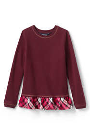 Girls Plus Size Sweatshirt Top