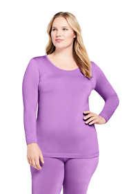 Women's Plus Size Thermaskin Heat Scoopneck