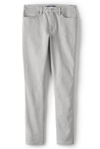 Jean 7/8 Slim Stretch 360 Teinté, Femme Grande Taille