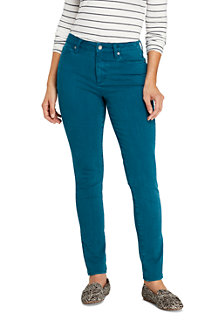 Women's Mid Rise 360° Stretch Slim Coloured Jeans