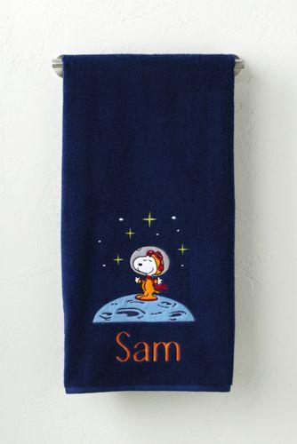 Serviette Snoopy, Enfant