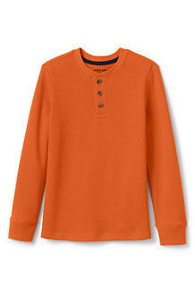 Boys' Thermal Henley Shirt