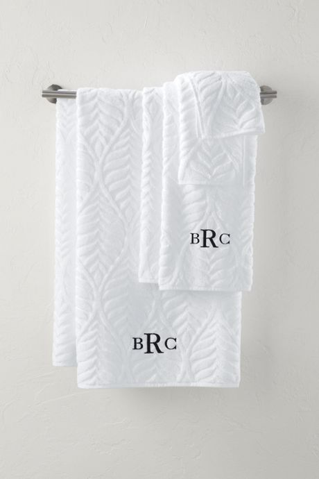 Supima Cotton Sculpted Hand Towel