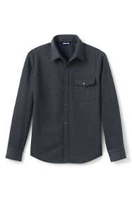 Men's Traditional Fit Fleece Bonded Outrigger Shirt Jacket