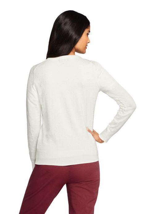 Women's Supima Cotton Cardigan Sweater - Textured