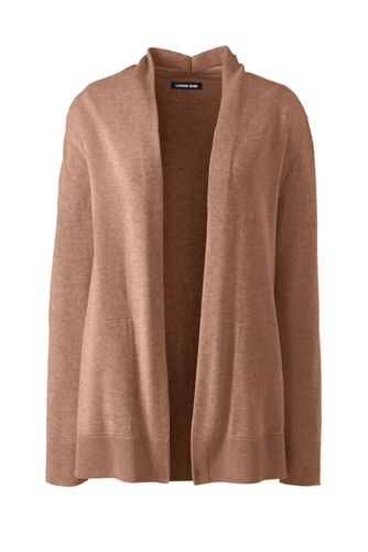 Women's Long Sleeve Open Cardigan