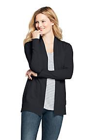 877dfec9040fa Women's Cotton Long Sleeve Open Cardigan Sweater