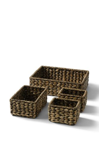 seagrass nesting baskets set of 4 from lands end