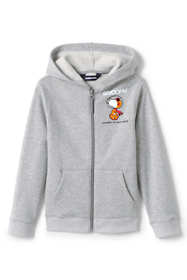 Kids Husky-Plus Peanuts Snoopy Fleece Zip Front Hoodie