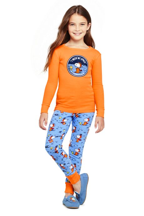 Kids Peanuts Snoopy Snug Fit Pajama Set