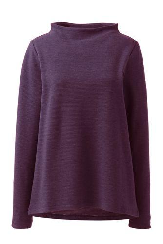 Sweatshirt aus Ottoman für Damen