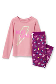 Toddler Girls French Terry Pajama Set