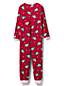 Combinaison Pyjama en Polaire à Motifs, Fille