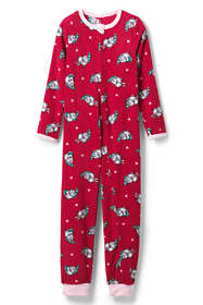 Toddler Girls Pattern Fleece Sleeper