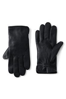 Leder-Handschuhe mit Kaschmirfutter für Herren