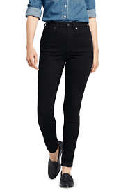 Women's Slimming High Rise Skinny Jeans - Black