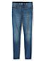 Jean Amincissant Skinny Taille Haute Indigo, Femme Stature Standard